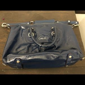 Coach purse - blue